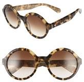Kate Spade 'khriss' 52mm Round Sunglasses