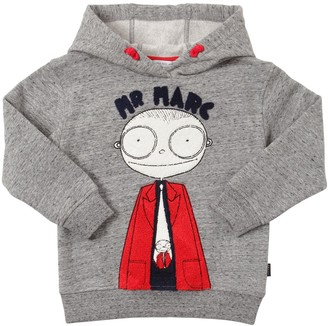Little Marc Jacobs Patches Cotton Sweatshirt Hoodie