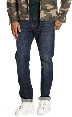 """Lucky Brand Mill Canyon Slim Straight Mid Rise Jeans - 30-34"""" Inseam"""