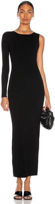 Victor Glemaud Cut Shoulder Dress in Black | FWRD