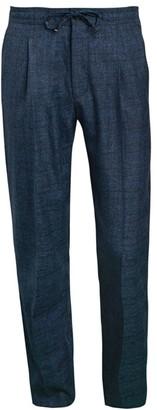 Corneliani Virgin Wool-Blend Drawstring Trousers