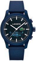 Lacoste Men's Blue Silicon SmartWatch