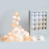 La case de cousin Paul Uyuni garland - 20 luminous balls