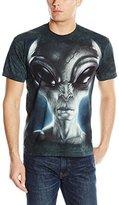 The Mountain Men's Grey Alien Adult T-Shirt
