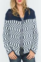 Wooden Ships Knit Cardigan Hoodie