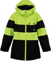 Volcom Yellow and Black Cascade Ski Jacket