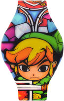 Character Nintendo Legend Of Zelda Graphic Silicone Strap LED Boys Watch