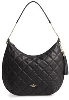 Kate Spade Emerson Place - Tamsin Leather Hobo - Black