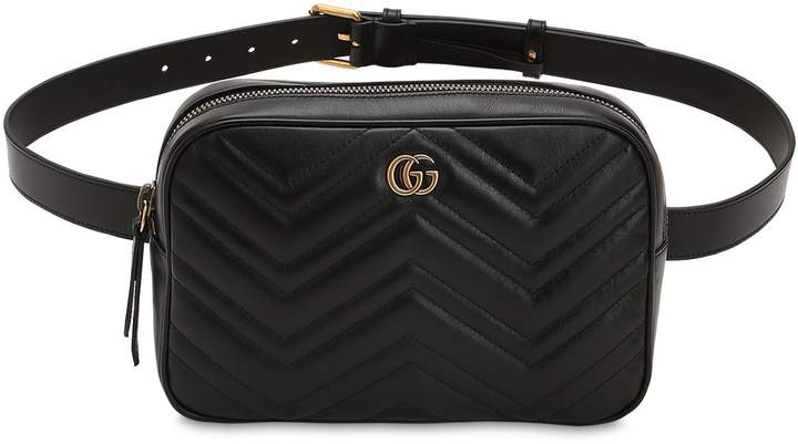 Gucci Gg Marmont 2.0 Quilted Leather Belt Pack