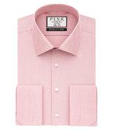 Thomas Pink Oscar Plain Slim Fit Double Cuff Shirt