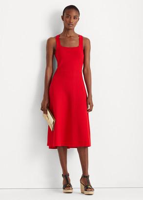 Ralph Lauren Sleeveless Fit-and-Flare Dress