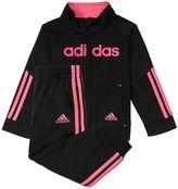 adidas Girls 4-6x Linear Tricot Jacket & Pants Set