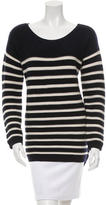 Chinti and Parker Striped Wool Sweater