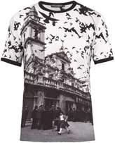 Dolce & Gabbana Landscape-print cotton T-shirt