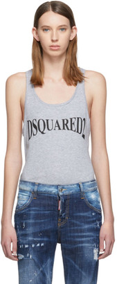 DSQUARED2 Grey Renny Fit Tank Top