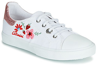 Catimini SAXIFAGE girls's Shoes (Trainers) in White