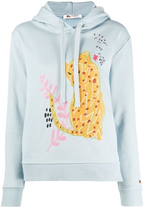 Ports 1961 Embroidered Applique Hoodie