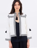 Whistles Trim Detail Jacket