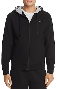 Lacoste Zip Hooded Sweatshirt