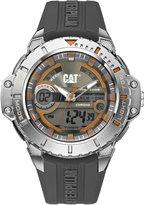Caterpillar CAT Anadigit Men's Ana-digi Watch metal Rubber Strap MA15525534