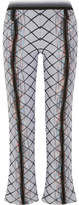 Missoni Wool-blend Jacquard Flared Pants - Off-white