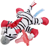 Dr Browns Zebra Plush Toy & Pink One-Piece Pacifier