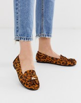 Asos Leopard Print Shoes - ShopStyle UK