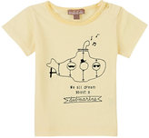 "Emile et Ida We All Dream About A Submarine"" Cotton Jersey T-Shirt"