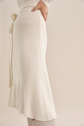 Country Road Long Sleeve Wool Knit Dress