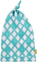 Masala Knotted Jiva Hat (Baby) - Turquoise/Yellow-6-12 Months