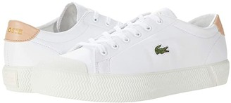 Lacoste Gripshot 0120 2 CFA (White/Natural) Women's Shoes