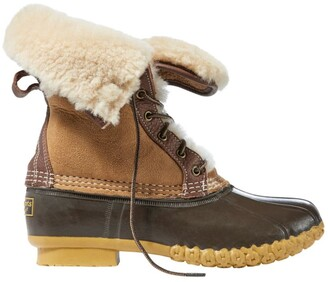 "L.L. Bean Women's Signature Wicked Good Bean Boots, 10"""