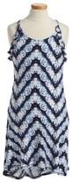 T2 Love Girl's Tie Dye Ruffle Dress