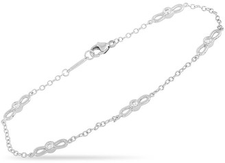 Heritage Tiffany & Co. Tiffany & Co. 18K 0.30 Ct. Tw. Diamond Bow Tie Bracelet