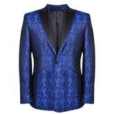 William Hunt Paisley Brocade Silk Jacket