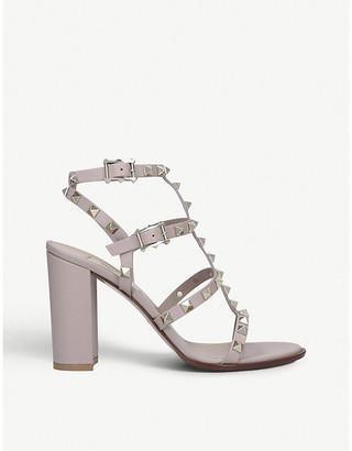 Valentino Rockstud 90 leather heeled sandals