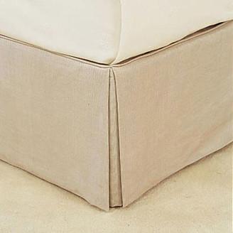 OKA Bed Valance 100% Cotton, Super King - Natural