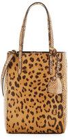 Ralph Lauren Mini Modern Calf Hair & Python Tote Bag, Leopard