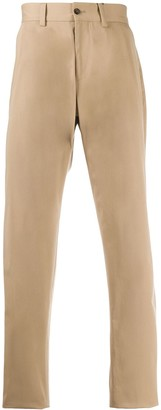 Dolce & Gabbana Pleated Stretch-Cotton Trousers
