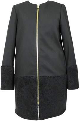 Club Monaco Navy Polyester Jackets