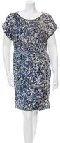 3.1 Phillip Lim Printed Short Sleeve Dress