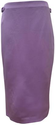 Tom Ford Purple Silk Skirts