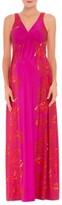 Olian Women's 'Scarlet' Sleeveless Maternity Maxi Dress