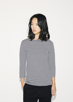 Sunspel Boat Neck Stripe Tee