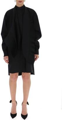 Givenchy Ruffled Asymmetric Shirt Dress