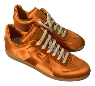 Maison Margiela Replica Orange Cloth Trainers