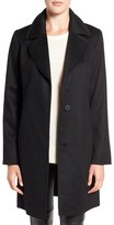 Fleurette Women's Notch Collar Lightweight Cashmere Coat