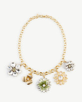 Ann Taylor Daisy Charm Necklace