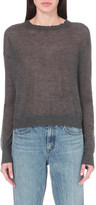 Helmut Lang Distressed cashmere jumper