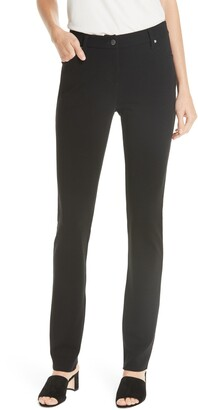 Eileen Fisher Ponte Knit Skinny Pants